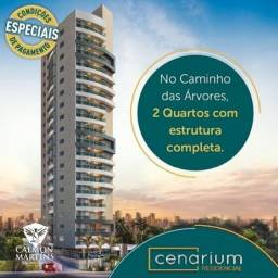 Apartamento 2 quartos suíte 1 ou 2 vagas, Lançamento Cenarium Residencial(El67).