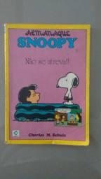 Almanaque Snoopy Nº 1 - Schulz - Cedibra - 1989