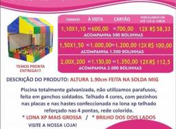 Casinha de bolinha + Bolinhas/ Piscina de  Bolinhas