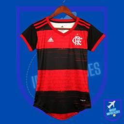 Camisa Lançamento Flamengo Feminina