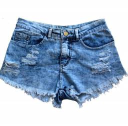 Shorts Jeans Seminovo