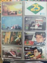 Cartões telefônico colecionador