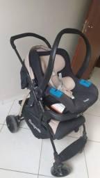 Carrinho de bebê+bebê conforto