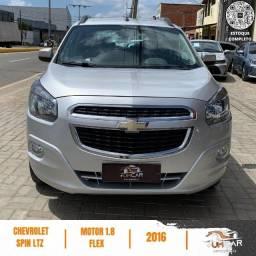 Título do anúncio: Chevrolet Spin - LTZ Automática - 7 Lugares - 2016 - Prata -123.000Km