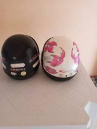 Vende-se dois capacetes