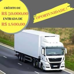 Caminhão com entrada de até 1.800