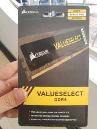 <br>Memória Ram Corsair 4GB, 2133MHz, DDR4, CL15 - CMV4GX4M1A2133C15