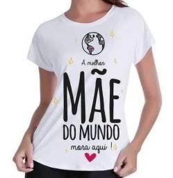 Camiseta Personalizada Mãe