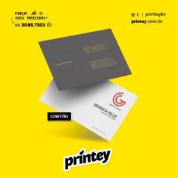Cartão Fidelidade e Cartão de Visita Impresso Personalizado