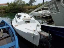 Vendo veleiro 28 pés R$16.500 doc ok