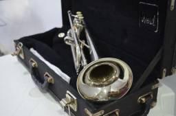 Trompete Weril Niquelado+ Bocal Custom 3C