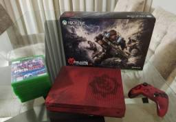 Oportunidade Xbox one edição limitada + 8 jogos originais