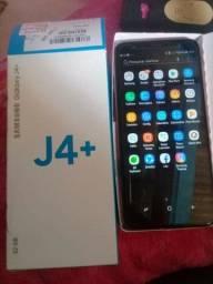 Samsung J4+ pouco tempo de uso (aceito débito ou crédito)