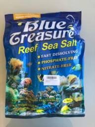 Sal marinho para aquário