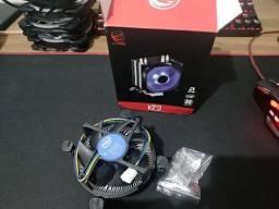 Cooler k2 pcyes blue led