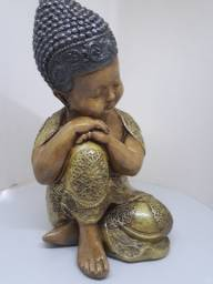 Buda Mediano Pensador de 25 centímetros cumprimento