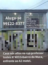 Aluguel de cada no bairro do Muca ótima localização nós altos R$:1.300