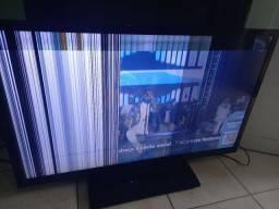 Televisão cce 42 polegadas aceito cartão
