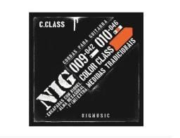 Encordoamento Nig Color Class Laranja P/ Guitarra 010 N1642