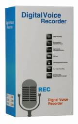 Gravador De Voz Lcd Mp3 Player Digital Voice Recorder