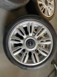 Jogo de rodas Mini Cooper S aro 17 com pneus