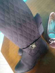 Calçados pouco usados