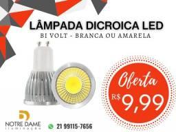 Título do anúncio: Lâmpada Dicroica GU10 LED 5W Branco Frio ou branco quente Bivolt