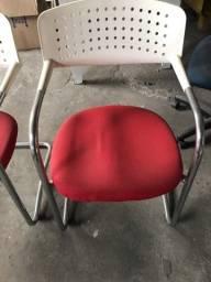 Cadeira de escritório 6 unidades