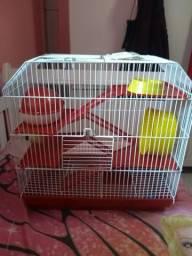 Gaiola e Mansão para hamsters