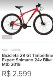 Bicicleta top GT modelo 2018