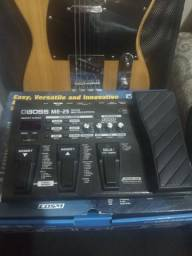 Guitarra Telecaster e Pedaleira ME 25
