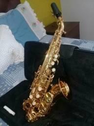 Sax Soprano Curvo Jahnke (somente venda)