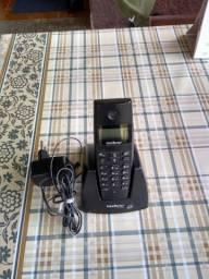 Vendo telefoni sem fio da marca Intelbras no valor de 100.00