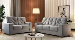 Conjunto sofá 2 e 3 lugares 175 K728