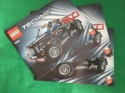 Manual Lego Technic 9395 - Pick-up Tow Truck