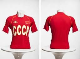 Camisa de Futebol - União Soviética - Passeio - M dcf7c15ec51ee