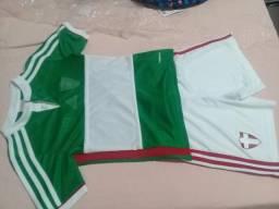 1d474dba4d Uniforme de futebol infantil original do palmeiras adidas