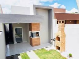 Linda casa 3 quartos 2 banheiros fino acabamento com documentação inclusa