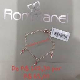 aac13c41a7f Semi Joias Rommanel linda pulseira Sorvete Infantil