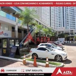 LOJA À VENDA 57M² - PARKSTYLE - ÁGUAS CLARAS - BRASÍLIA - DF