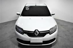 Renault Logan Expression 1.6 2016 Completo com GNV - 2016