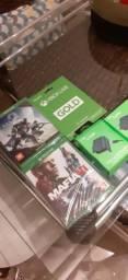 Jogos Xbox one e Kit live bateria, usado comprar usado  Ribeirão Preto