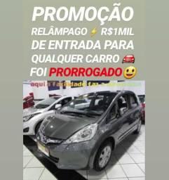 Muito FÁCIL! R$1MIL DE ENTRADA(HONDA FIT 1.4 AUTOMÁTICO 2013)NA SHOWROOM AUTOMÓVEIS