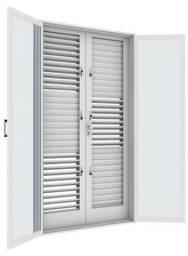 Porta Balcão flex 1200x2200 com vidro temperado
