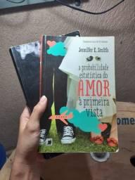 """Livro """"A probabilidade estatística do amor à primeira vista"""""""