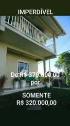 Somente Por R$ 320.000,00.Sobrado 3 dormitórios de esquina, semi-mobiliado