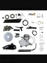 Kit Completo Motor Bike P/ Bicicleta Motorizada 80cc-potente