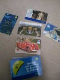 Vendo cartões telefônicos