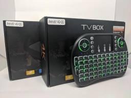 Tv Box Smart 4K - Modelo 2020 Atualizada - Wifi 5Ghz - Original - Novo