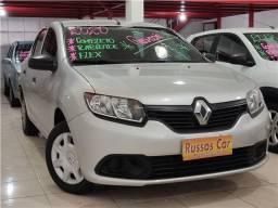 Renault Logan 1.0 Flex Authentique Manuak 2020 - Entrada A Partir de 1.000